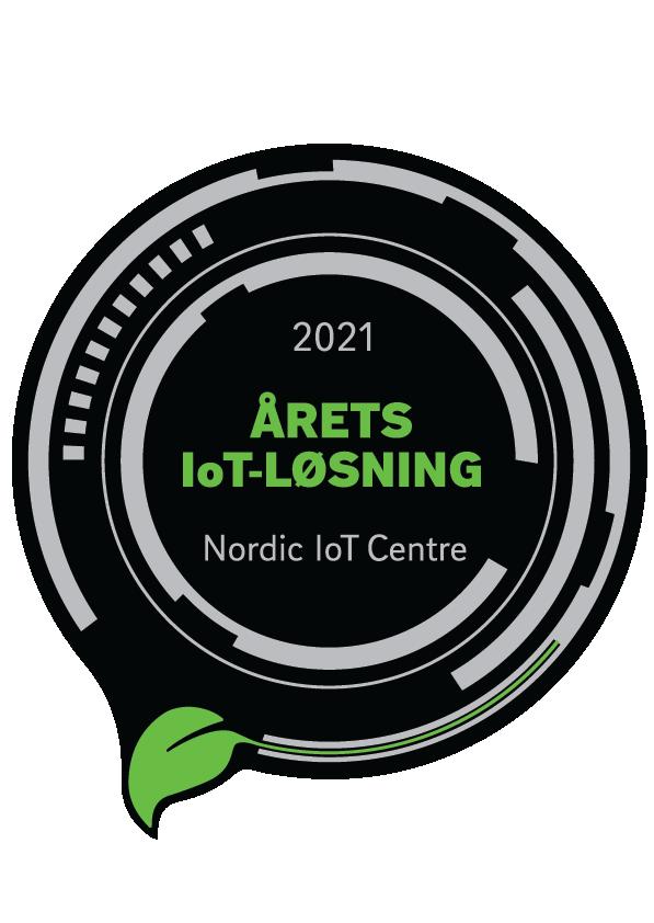 Vinder af IoT prisen_logo_Sort